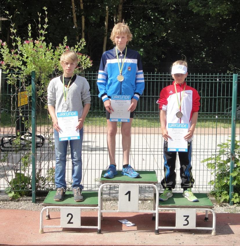 Keine Angst vorm Berg – 5 (AK-)Sieger (davon 3x Thüringer Meistertitel) aus Jena auf dem Apoldaer Podest