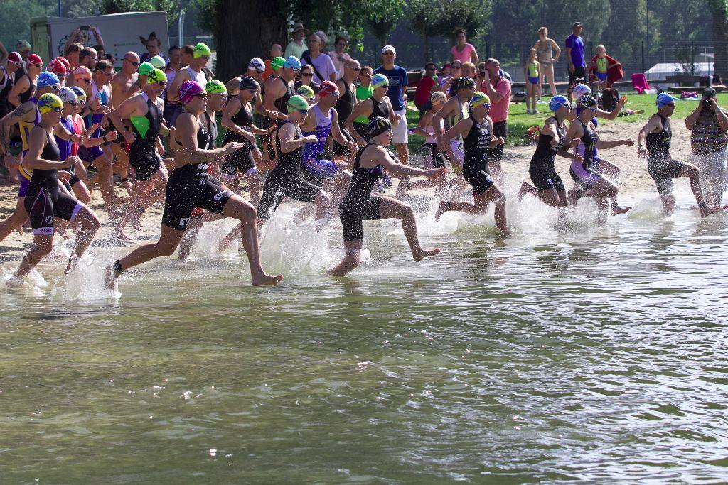 Ein perfekter Triathlontag beim 25. Jenaer Sparkassentriathlon