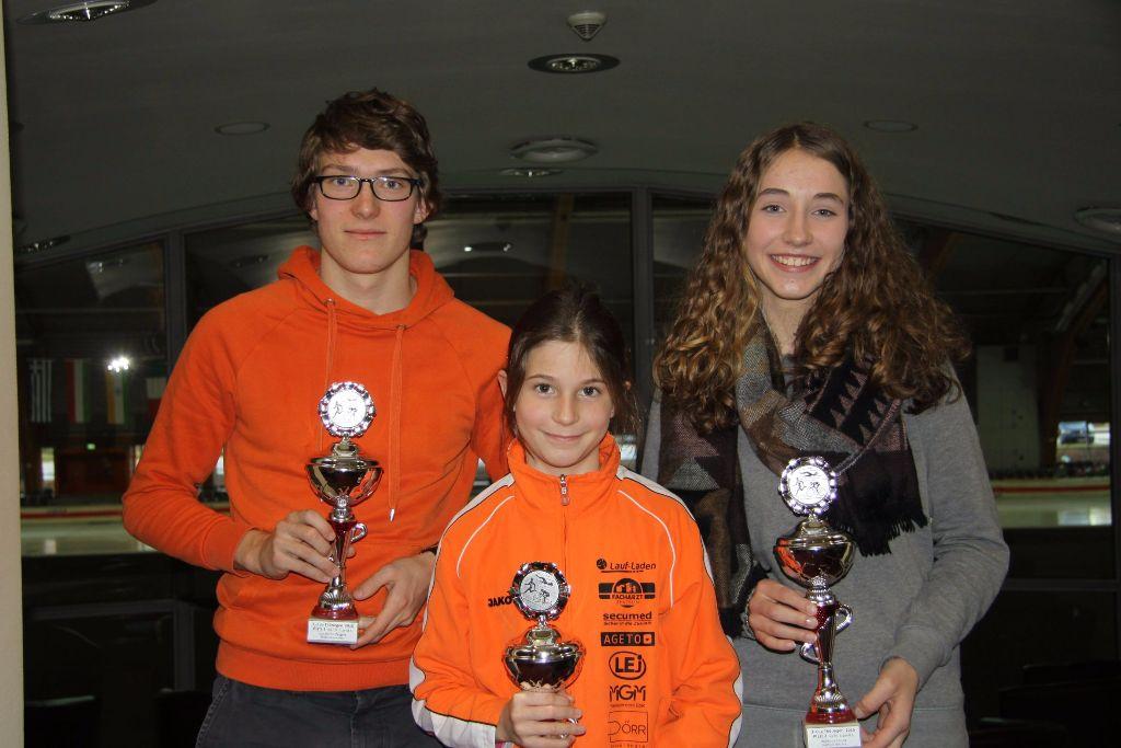 Thüringer Nachwuchs im Triathlon testete sich beim Eislaufen