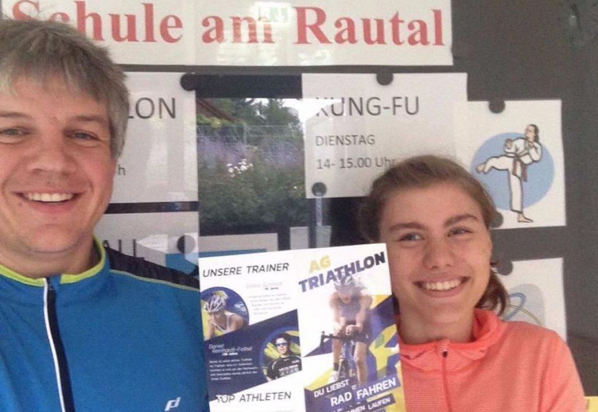 """AG """"Triathlon"""" nimmt ab sofort neue Interessenten auf – AG-Flyer macht Lust auf mehr!"""